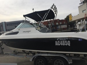 2008 BAYSPORT 575 CUDDY