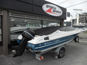 1991 Bayliner 1800 Capri