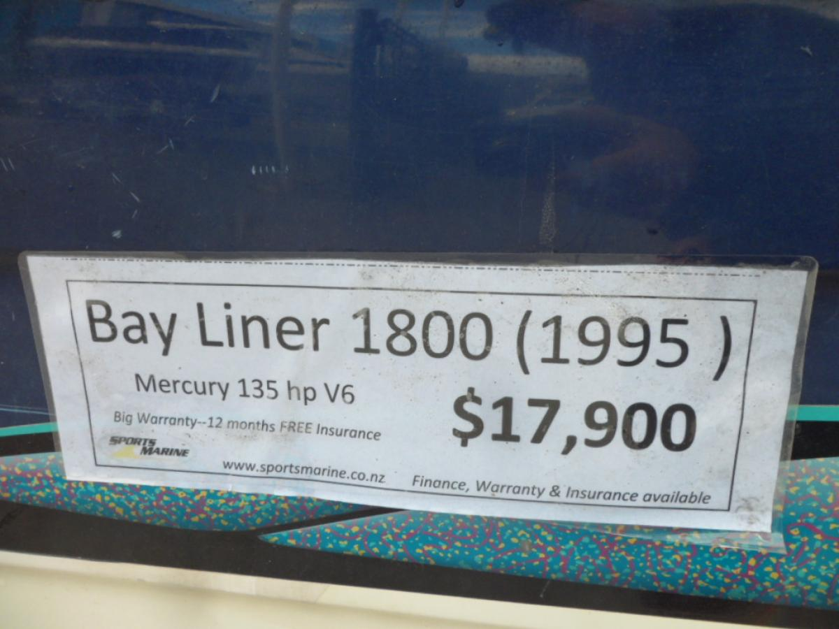1995 Bayliner 1800 Bow Rider