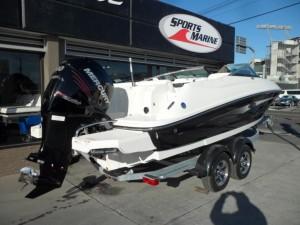 Sea Ray 220 Sun Deck Outboard