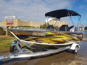 509 Crossfire with 115hp ProXS 4 stroke
