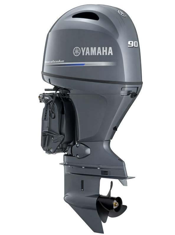 F90lb Yamaha 4 Stroke 90hp Long Shaft Efi Outboard For Sale Brisbane Yamaha