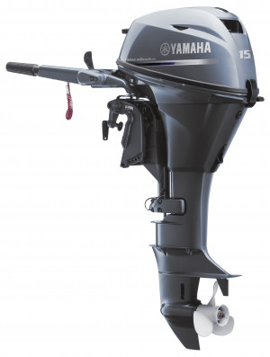 F15SEHA Yamaha 4 Stroke 15hp Short Shaft, Electric Start PORTABLE OUTBOARD FOR SALE
