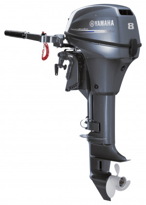 F8SMHB Yamaha 4 Stroke 8hp Short Shaft PORTABLE OUTBOARD FOR SALE