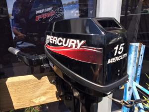 15HP Mercury 2-Stroke Electric Start