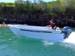 POLYCRAFT 450 DRIFTER  OPEN BOAT Pack 4 Yamaha F60HP