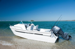 POLYCRAFT 530 Cuddy Cabin  powered by a  F115 HP   PACK 1