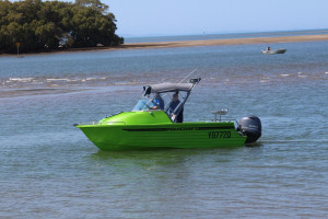 POLYCRAFT 530 Cuddy Cabin  powered by a  F130 HP   PACK 4
