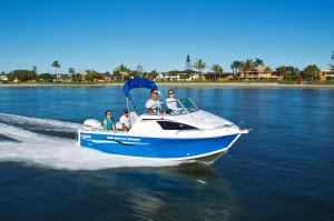 QUINTREX 590 OCEAN SPIRIT  F150 HP Pack 2