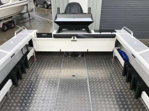 Bar Crusher 730C Plate Aluminium Cuddy Cabin