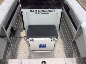 Bar Crusher 670WR Plate Aluminium Walk Around Centre Console