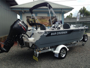 Bar Crusher 535XS Plate Aluminium Rear Centre Console