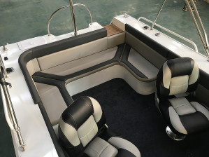 New 5.15 Blue Fin Bow Rider with New 75HP 4-Stroke