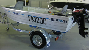 New Bluefin 3.6 Rascal with New 15HP