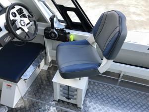 Bar Crusher 535C Plate Aluminium Cuddy Cabin