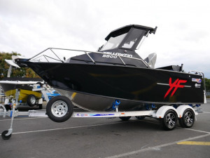 Quintrex 5800 Yellowfin Hard Top - Offshore Fishing Boat
