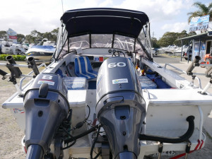 Quintrex 470 Reef Master - Runabout Loaded with Extras!