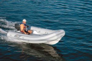 AB Navigo Vs 13 - fibre glass hull - Inflatable RIB Tender