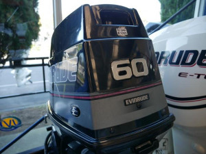 60HP EVINRUDE OUTBOARD
