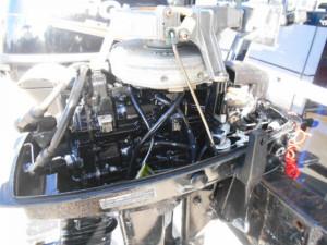 Used 2007 Mercury 6hp outboard engine