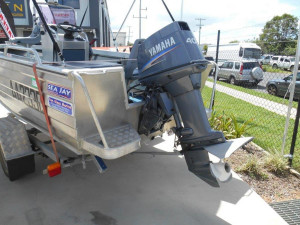 Used Sea jay 4.35 territory center console