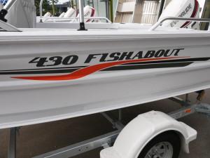QUINTREX 430 FISHABOUT STD