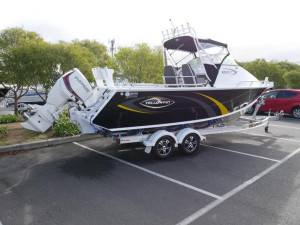 QUINTREX YELLOWFIN 6900 OFFSHORE CABIN