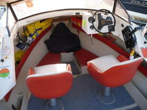 STREAKER 458 CUDDY CABIN