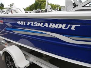 QUINTREX 481 FISHABOUT DLX