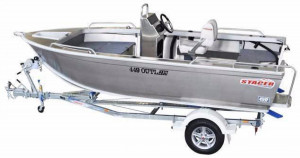 STACER 449 OUTLAW SC OR CC - Mercury 60 HP 4 stroke - DRIVE AWAY $26,750.00