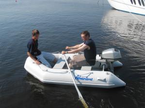 Aurora Slatted Floor T-200 - light weight foldable tender