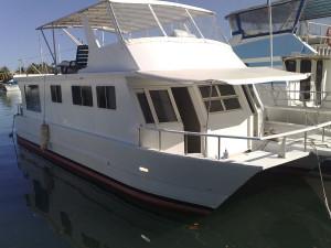 51' Jabiru Power Catamaran (Houseboat) For Sale in Fiji.