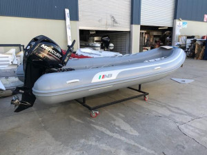 AB Navigo Vs 15 -fibre glass hull-Inflatable RIB
