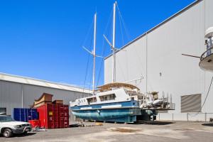 Custom Commercial Sailing Catamaran Mothership 'FIRST LIGHT'