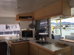 Lagoon 400. 2011 model. Owner's version.