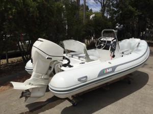 AB Oceanus 12 VST Inflatable RIB