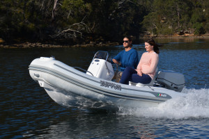 AB Oceanus 11 VST Inflatable RIB