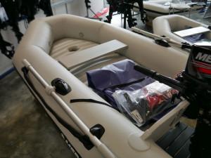 Mercury 250 Air Deck - Inflatable Boat