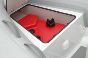 AB Alumina 10 ALX  light weight aluminium centre console RIB