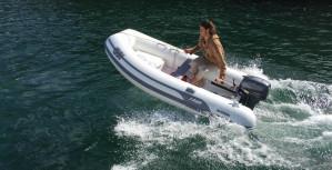 AB Lammina AL 9.5 - light weight aluminium hull -  Inflatable  RIB