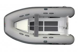 AB Lammina AL 10 - light weight aluminium  RIB tender