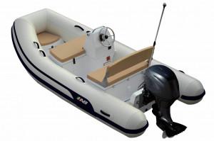 AB Mares 12 VSX fibre glass -centre console - Inflatable RIB