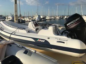 AB Nautilus 13 DLX Inflatable RIB -super yacht tender