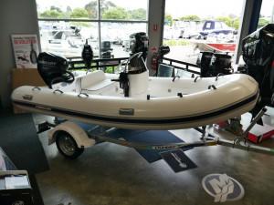 Mercury 420 Ocean Runner Inflatable