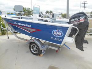 Clark 430 Fishmaster side console