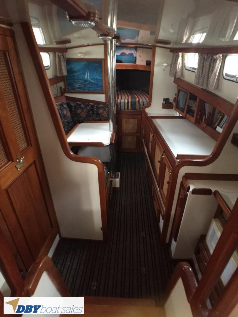 Fisher 32 Pilothouse Motorsailor