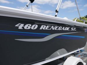 Quintrex 460 Renegade SC - Side Console