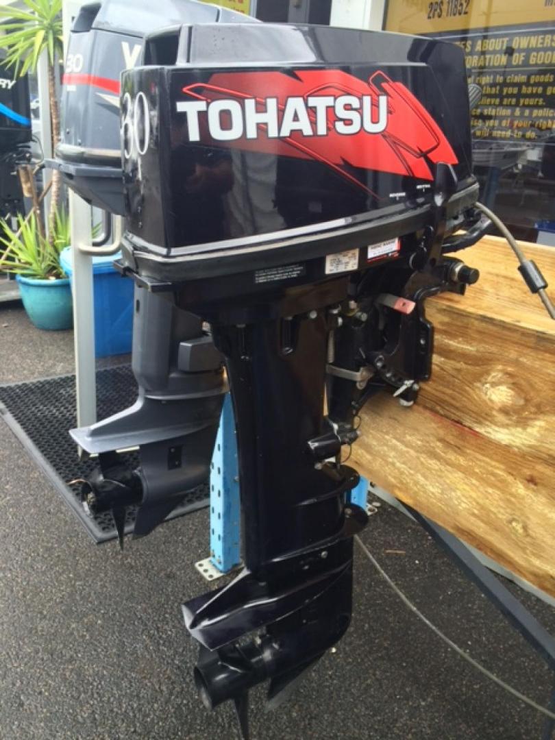 30hp Tohatsu 2 Stroke Long Shaft