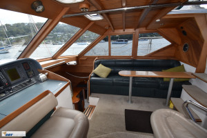 Ganley 62 Steel Custom Pilot House
