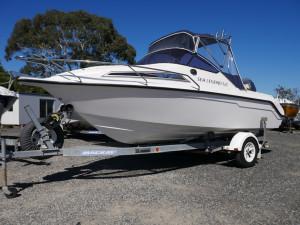Whittley 500 Sea Legend - Cabin Boat